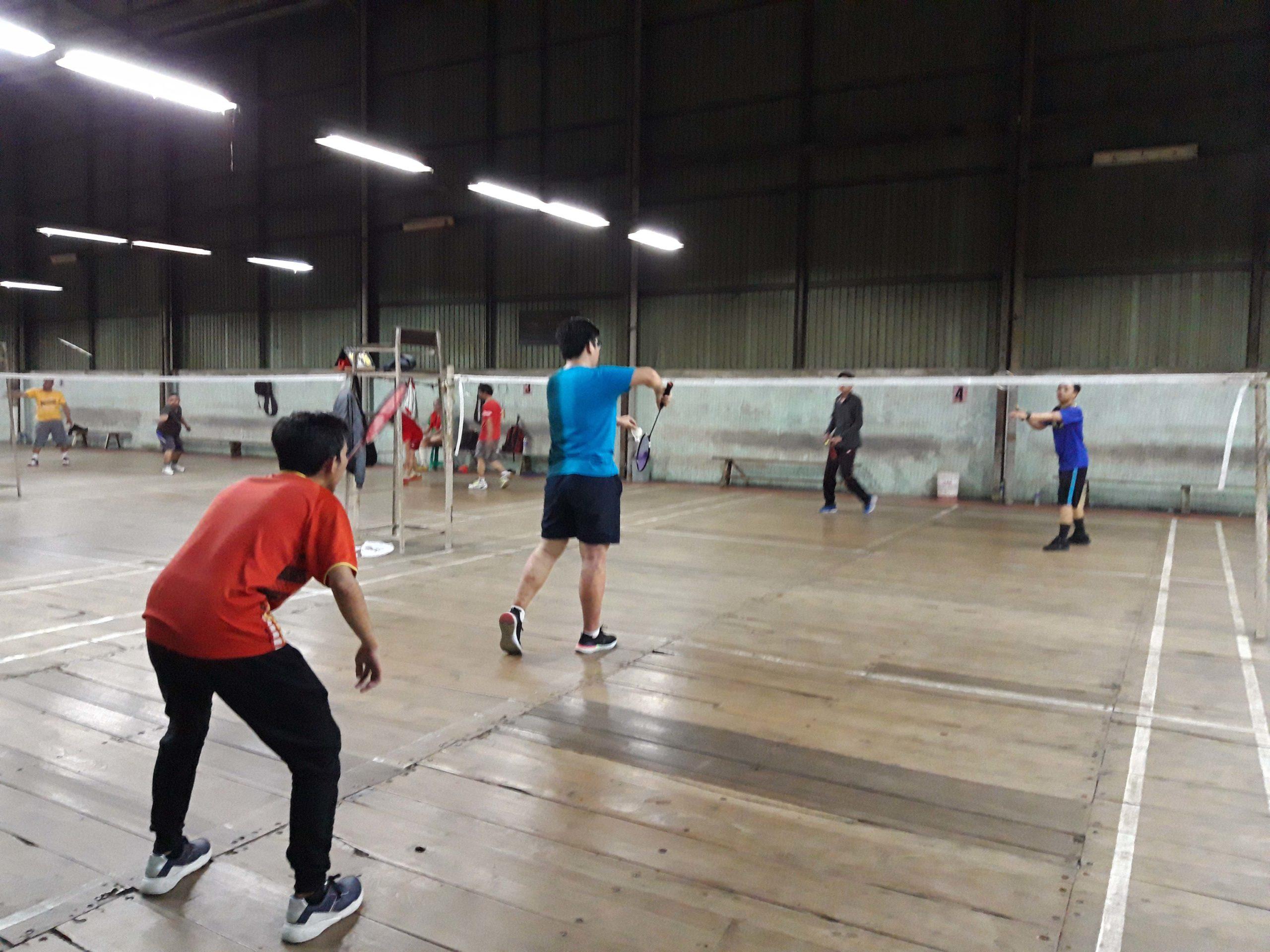 Badminton bersama Ikatan Penerima Beasiswa LPDP UI
