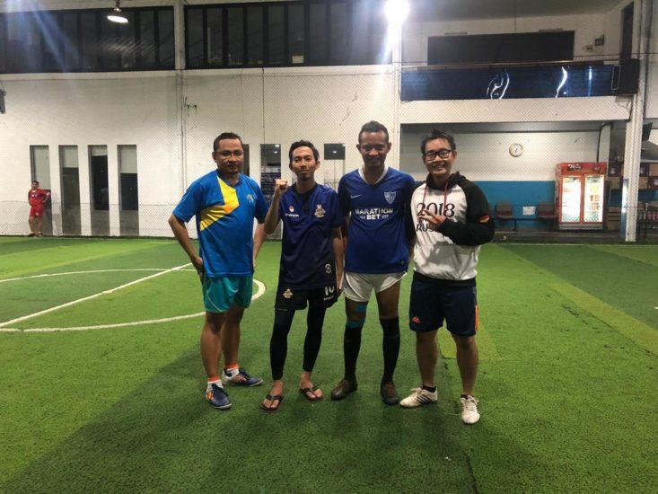 Futsal bersama Ikatan Penerima Beasiswa LPDP UI
