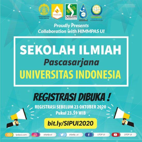 Sekolah Ilmiah Pascasarjana Universitas Indonesia: Coaching Clinic Penulisan Ilmiah bagi Mahasiswa Pascasarjana